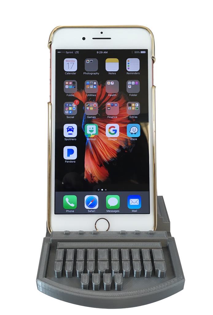 Steno Machine Cell Phone Stand | Stenograph L L C